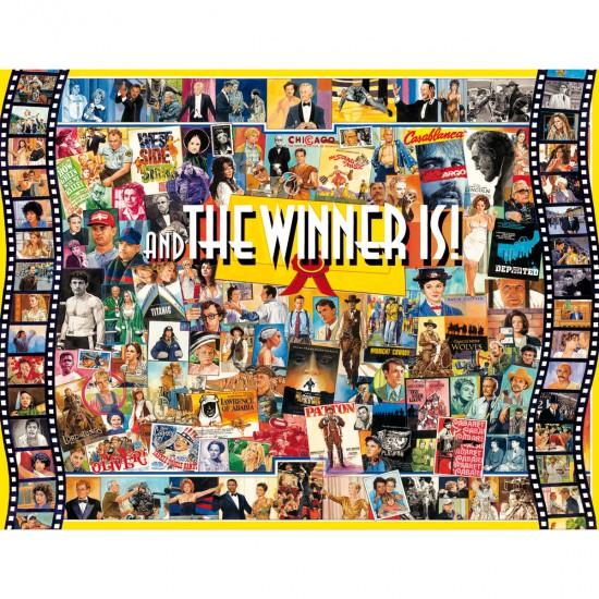 Puzzle 1000 pièces : Et le gagnant est... - White-987