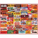 Puzzle 1000 pièces : Etiquettes de confiseries