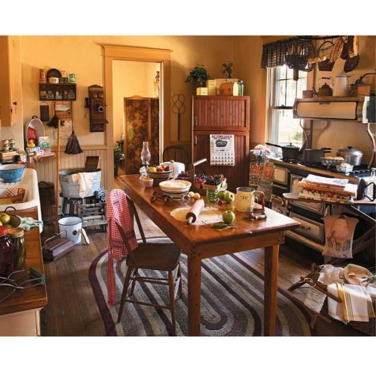 Puzzle 1000 pièces : la cuisine de mamie - White-528