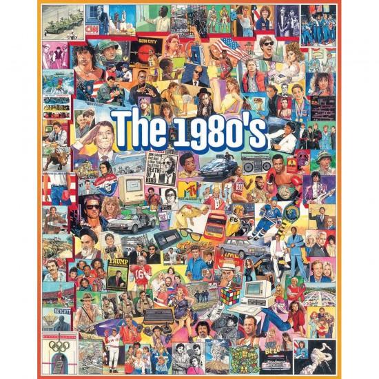 Puzzle 1000 pièces : Les années 80 - White-868