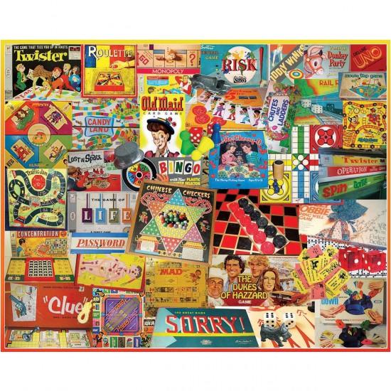 Puzzle 1000 pièces : Nos jeux d'antan - White-924