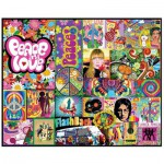 Puzzle 1000 pièces : Peace & Love