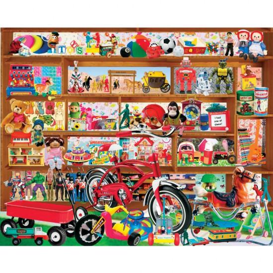 Puzzle 1000 pièces : Vieux jouets - White-972