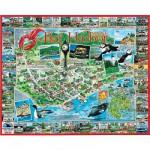 Puzzle 1000 pièces - Bar Harbor, Maine, USA