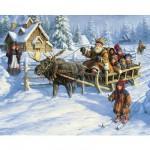Puzzle 1000 pièces - Départ pour le pôle nord