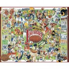 Puzzle 1000 pièces - Histoire du football américain