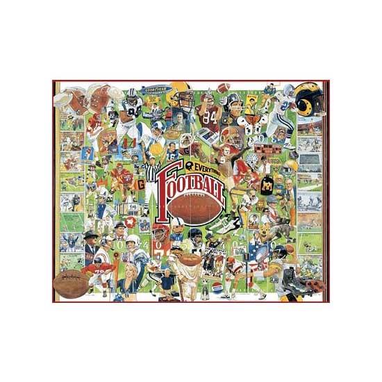 Puzzle 1000 pièces - Histoire du football américain - White-359