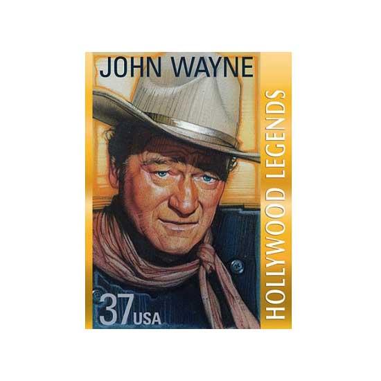 Puzzle 1000 pièces - Les légendes d'Hollywood : John Wayne - White-437
