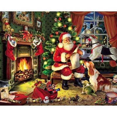 Puzzle 1000 pièces - Nuit de Noël - White-486