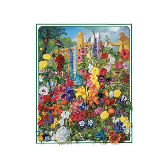 Puzzle 1000 pièces - Plantes vivaces - White-368
