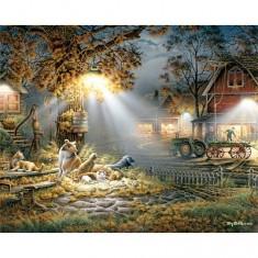 Puzzle 1000 pièces - Travail nocturne