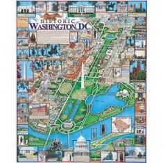 Puzzle 1000 pièces - Washington, District de Columbia, USA