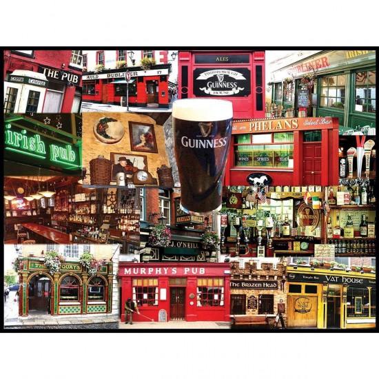 Puzzle 550 pièces : Pubs irlandais - White-927