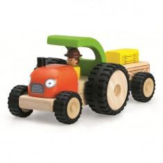 Véhicules Miniworld : Tracteur avec remorque