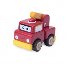 Camion de pompier à construire