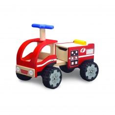 Porteur camion pompier