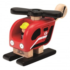 Véhicules Miniworld : Hélicoptère de pompier