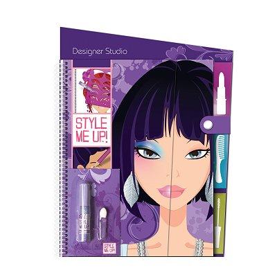 Carnet D 39 Esquisses Style Me Up Coiffures Et Maquillages Jeux Et Jouets Wooky Entertainment