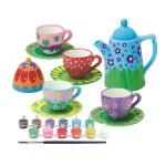 Kit créatif : Service à thé à peindre