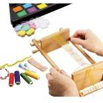 Set créatif : Métier à tisser en bois