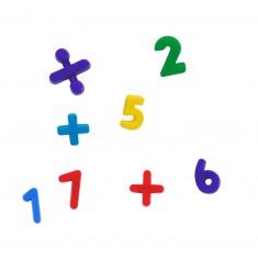 Blister chiffres et symboles magnétiques (35 pièces)
