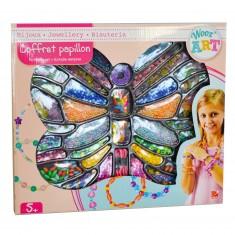 Coffret de perles Papillon