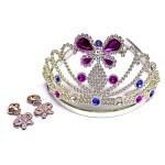 Diadème et bijoux de princesse