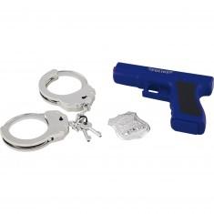 Set de police : Pistolet et accessoires