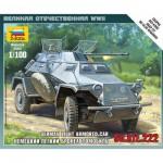 Maquette véhicule blindé Sd.Kfz.222