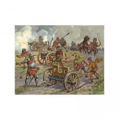 Figurines médiévales: Artillerie médiévale