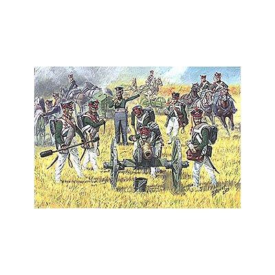 Figurines Guerres napoléoniennes: Artillerie Russe 1812  - Zvezda-8022