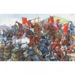 Figurines Japon médiéval : Bataille de samouraïs