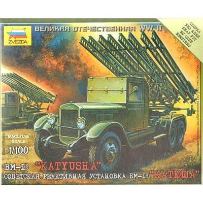 Maquette BM-13 Katyusha - Zvezda-6128