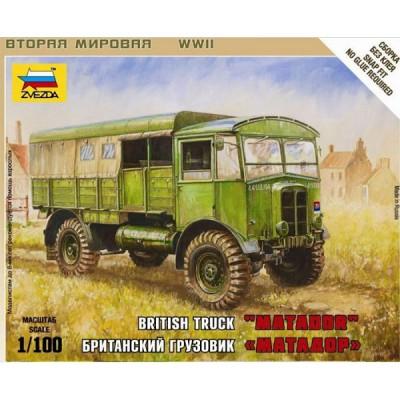 Maquette Camion britannique Matador - Zvezda-6175