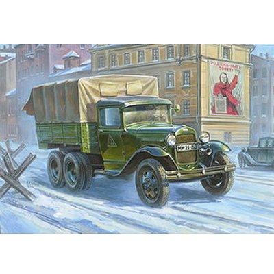 Maquette Camion soviétique Gaz-AAA - Zvezda-3547