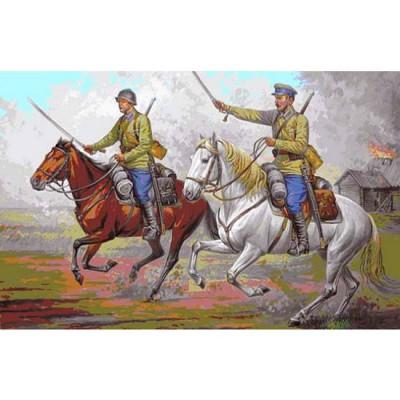 Figurines 2ème Guerre Mondiale : Cavalerie Soviétique 1935-1942 - Zvezda-6161