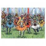 Figurines Japon médiéval: Cavaliers Samouraï