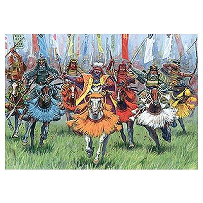 Figurines Japon médiéval: Cavaliers Samouraï - Zvezda-8025