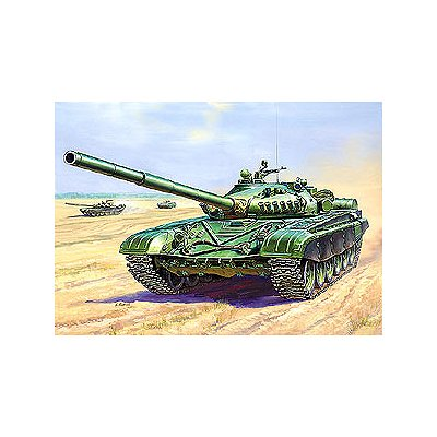 Maquette Char soviétique T-72A - Zvezda-3552