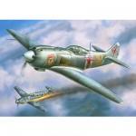 Maquette avion: Chasseur Soviétique LA-5FN