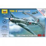 Maquette avion: Chasseur soviétique Yak-3
