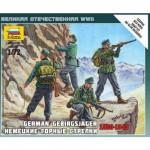 Figurines 2ème Guerre Mondiale : Chasseurs alpins allemands