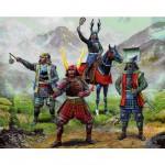 Figurines Japon médiéval : Chefs Samouraïs