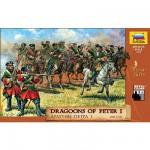 Figurines Dragons de Pierre le Grand: XVIIIème siècle