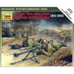 Figurines 2ème Guerre Mondiale : Escouade antichar soviétique