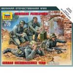 Figurines 2ème Guerre Mondiale : Escouade de reconnaissance allemande 1939-1942