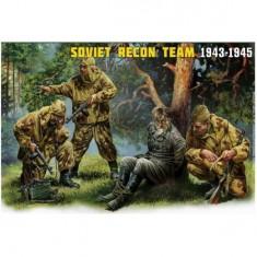 Figurines 2ème Guerre Mondiale : Escouade de reconnaissance soviétique 1943-1945