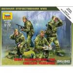 Figurines 2ème Guerre Mondiale : Escouade de reconnaissance soviétique