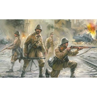 Figurines : Infanterie Roumaine - Zvezda-6163