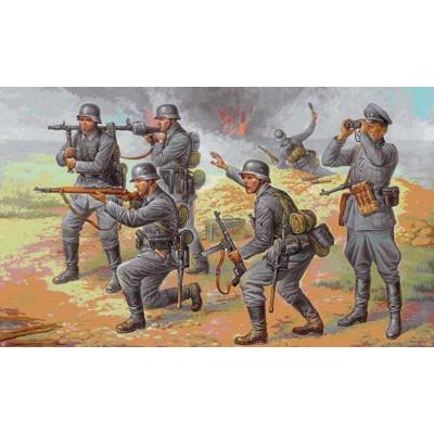 Figurines 2ème guerre mondiale : Infanterie allemande 1942-1944 - Zvezda-8078